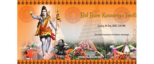 Bol Bam kawariya Invitation