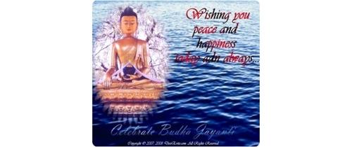 Come and Celebrate Lord Buddha Jayanthi