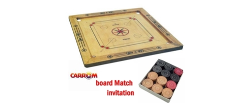 Carom board match/tournament/g