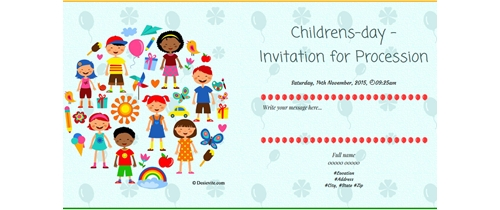 It's Childreen's Day  come and join us for fun