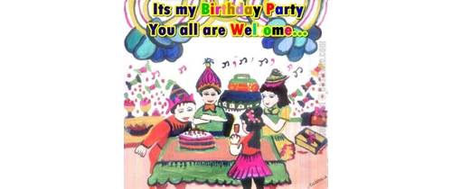 Its my Birthday Party You all are welcome