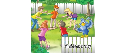 Children`s Day come and let's celebrate