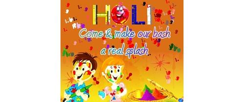 Do join our Holi festivals celebration