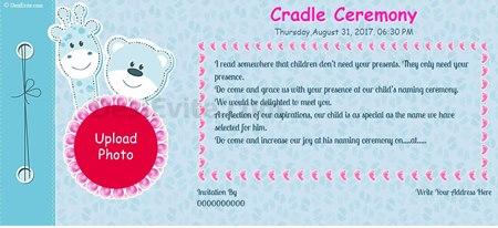 Baby boy Naming ceremony/Chatthi Ceremony