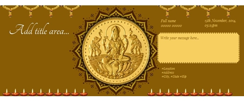 Dhanteras Invitation