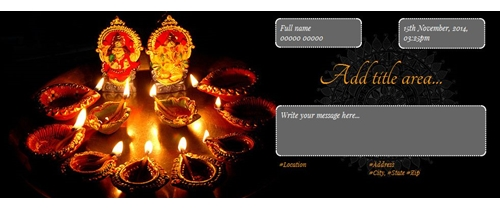 Invite on Dhanteras