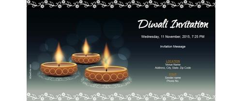 Free diwali invitation card online invitations diwali invitation stopboris Gallery