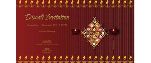 Free Diwali Invitation Card Online Invitations