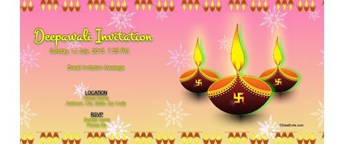 Free diwali invitation card online invitations deepawali invitation m4hsunfo