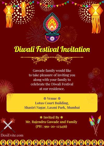 diwali-invitation-card-with-panti-and-kandil