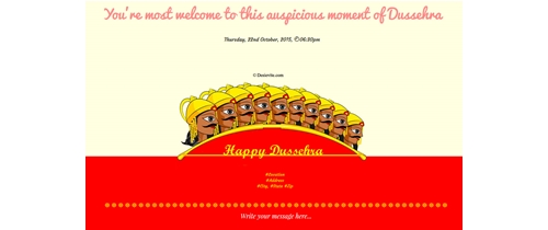 Truth always wins - Happy Dusshera