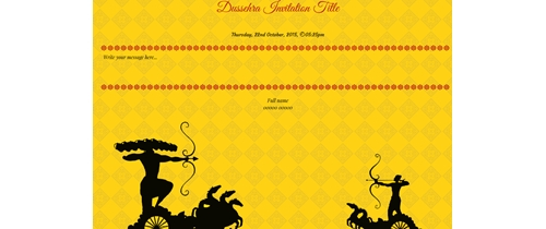 Dussehra - The end of evil