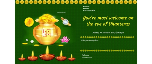 Welcome to Dhanteras