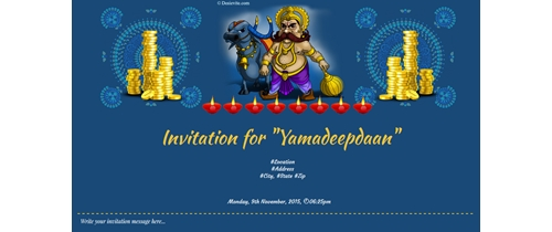 Invitation for Yamadeepdaan