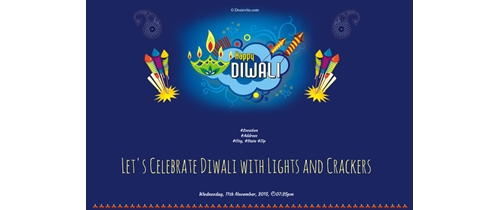 Let's Celebrate Diwali with Lights and Crackers