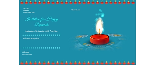 Enlited Diwali Invitation