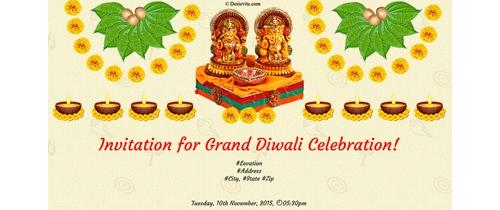 Diwali celebration in Tamilnadu