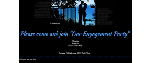 Please be present in the most auspicious Engagement party