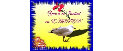 You are Invited on Easter