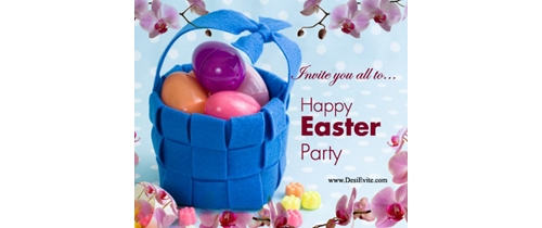 Invite you all to Easter Invitation
