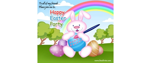 To all of my friends please join me to Easter Party