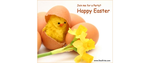 Join me for a Easter party