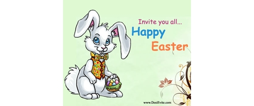 Invite you all Easter party