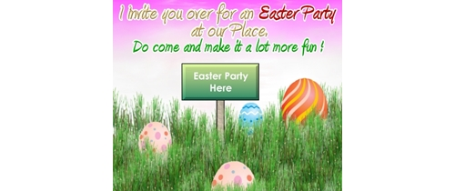 Easter Party here do come and make it lots of fun