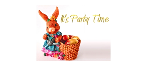 It's Easter Party time
