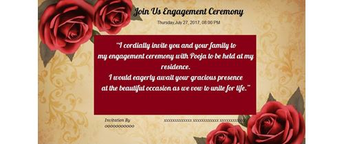 Rose Engagement theme