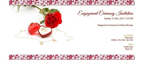 Free Online wedding Invitation – Create Engagement Invitation Card Online Free
