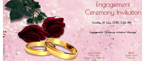 Online Engagement Invitation Cards – Create Engagement Invitation Card Online Free
