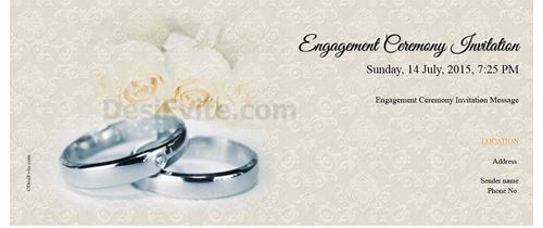 Free engagement invitation card video online invitations true love strories never have ending engagement invitation stopboris Images