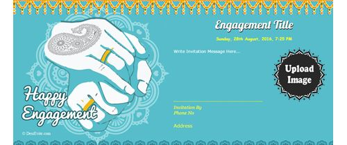 Engegment ceremony Invitation