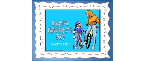 Invite you for Mother's Day party