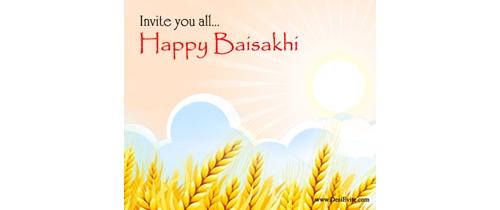 It's  time to celebrate Baisakhi