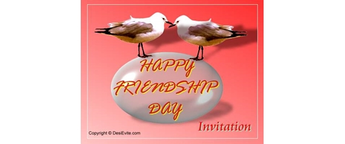 Friendship Day Invitation