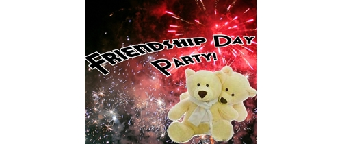 Friendship Day Party taddy bear