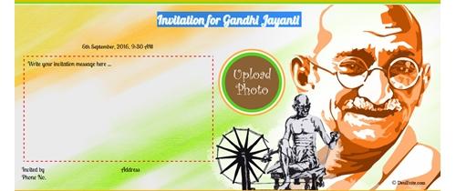 celebrate Gandhi Jaynti