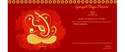 Om Ganeshaya Namah Join the puja
