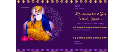Celebration of Guru Nanak Jayanti