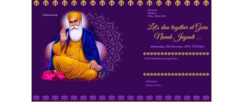 Celebration of Guru Nanak Jayanti