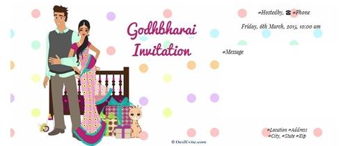 Godhbharai Invitation