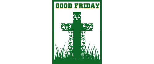 It's time to ptry to god on this Good Friday