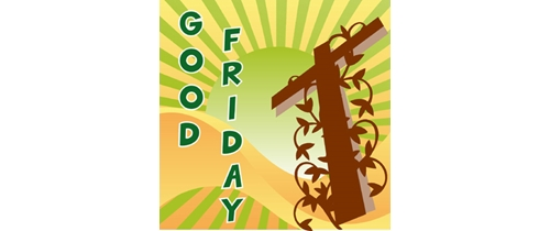 Invite you and your familly on prayer for Good friday