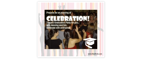 Prepare for evening of celebration on Graduation
