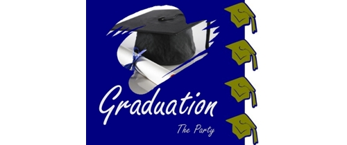 Graduation the  Party Invitation