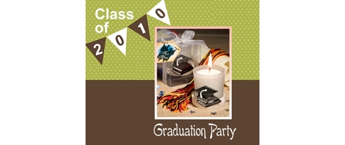 Class of 2010 Graduation Party Invitation
