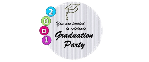 You are invited to celebrae Graduation day