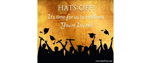 Hats Off! It's time for us to celebrate